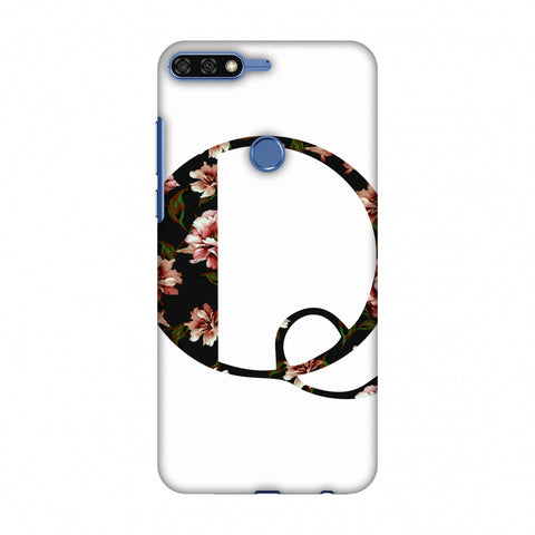 Floral Fill - Q Slim Hard Shell Case For Huawei Honor 7C