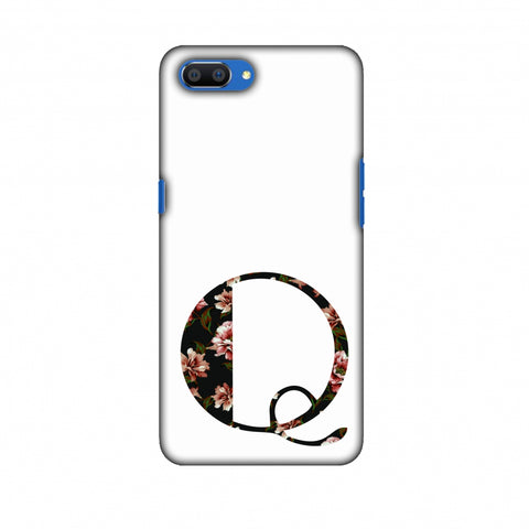 Floral Fill - Q Slim Hard Shell Case For Oppo Realme C1