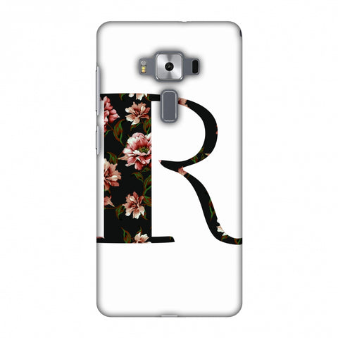 Floral Fill - R Slim Hard Shell Case For Asus Zenfone 3 Deluxe ZS570KL
