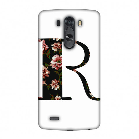 Floral Fill - R Slim Hard Shell Case For LG G4
