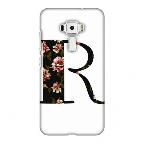 Floral Fill - R Slim Hard Shell Case For Asus Zenfone 3 ZE520KL