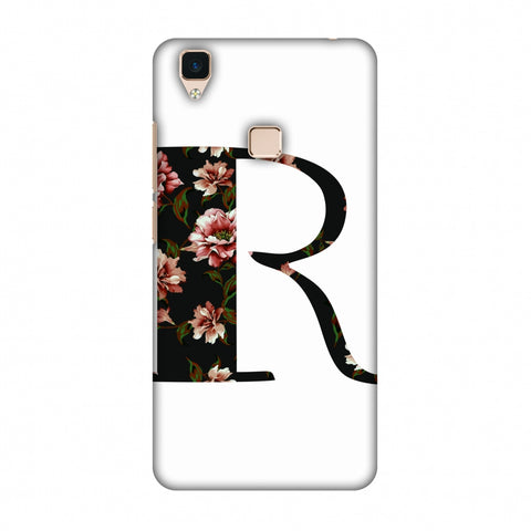 Floral Fill - R Slim Hard Shell Case For Vivo V3