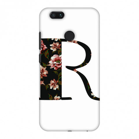 Floral Fill - R Slim Hard Shell Case For Xiaomi MI A1-5X
