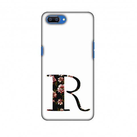 Floral Fill - R Slim Hard Shell Case For Oppo Realme C1