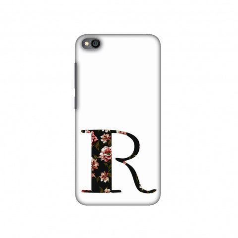 Floral Fill- R Slim Hard Shell Case For Redmi Go