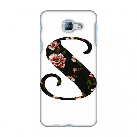Floral Fill - S Slim Hard Shell Case For Samsung Galaxy A8 2016