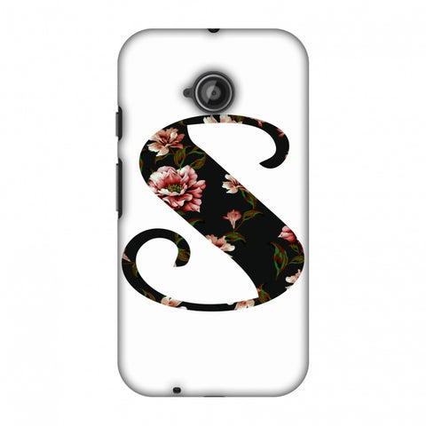 Floral Fill - S Slim Hard Shell Case For Motorola Moto E 2nd Gen