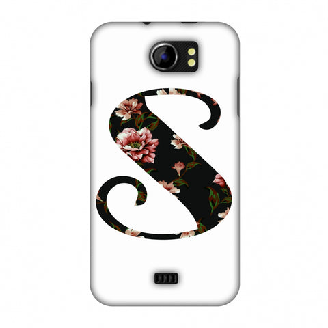 Floral Fill - S Slim Hard Shell Case For Micromax Canvas 2 A110