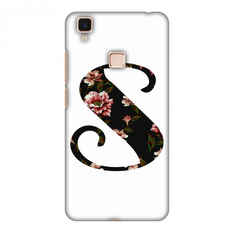 Floral Fill - S Slim Hard Shell Case For Vivo V3 Max