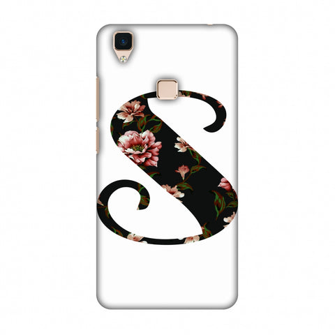 Floral Fill - S Slim Hard Shell Case For Vivo V3