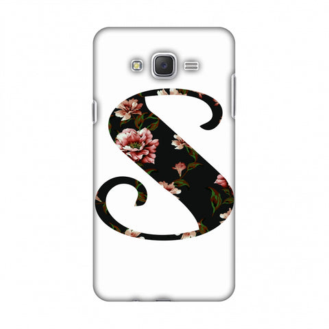 Floral Fill - S Slim Hard Shell Case For Samsung Galaxy J7