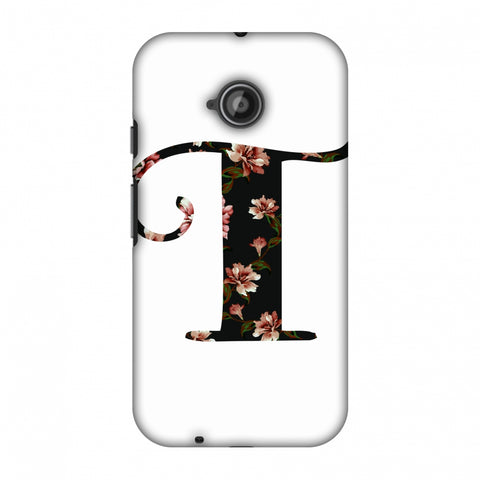Floral Fill - T Slim Hard Shell Case For Motorola Moto E 2nd Gen