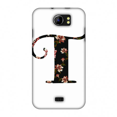 Floral Fill - T Slim Hard Shell Case For Micromax Canvas 2 A110