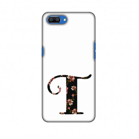 Floral Fill - T Slim Hard Shell Case For Oppo Realme C1