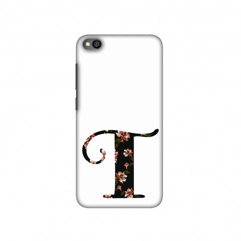 Floral Fill- T Slim Hard Shell Case For Redmi Go