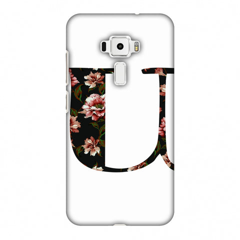 Floral Fill - U Slim Hard Shell Case For Asus Zenfone 3 ZE520KL