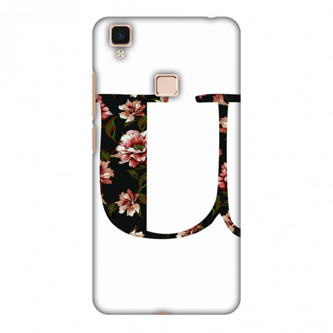 Floral Fill - U Slim Hard Shell Case For Vivo V3 Max