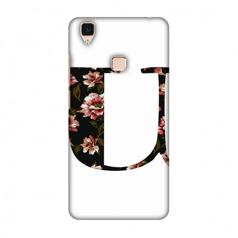 Floral Fill - U Slim Hard Shell Case For Vivo V3