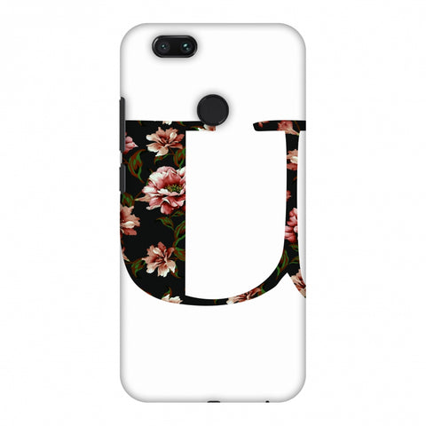 Floral Fill - U Slim Hard Shell Case For Xiaomi MI A1-5X