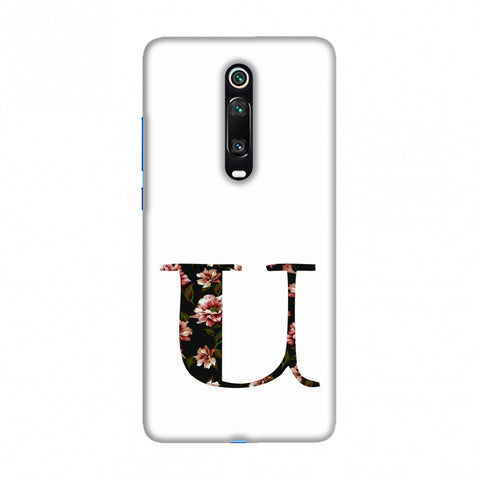 Floral Fill- U Slim Hard Shell Case For Redmi K20/K20 Pro