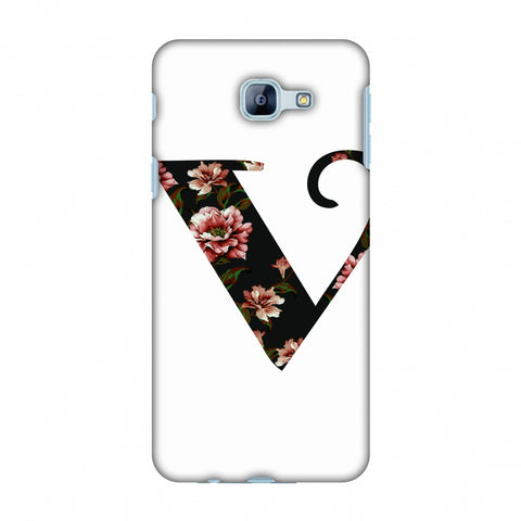 Floral Fill - V Slim Hard Shell Case For Samsung Galaxy A8 2016