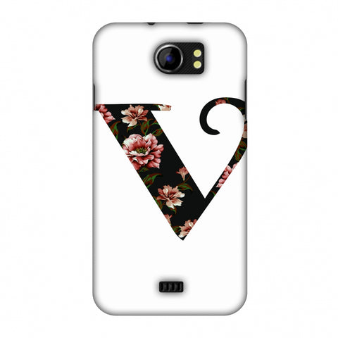 Floral Fill - V Slim Hard Shell Case For Micromax Canvas 2 A110