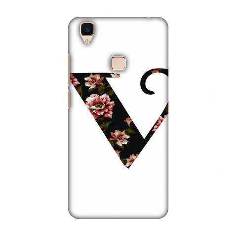 Floral Fill - V Slim Hard Shell Case For Vivo V3