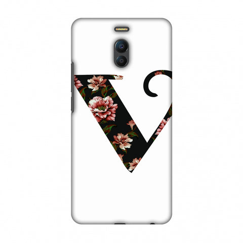 Floral Fill - V Slim Hard Shell Case For Meizu Note 6