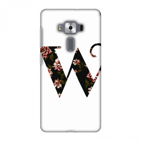 Floral Fill - W Slim Hard Shell Case For Asus Zenfone 3 Deluxe ZS570KL