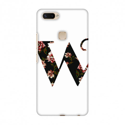 Floral Fill - W Slim Hard Shell Case For Vivo X20 Plus