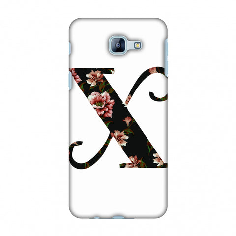 Floral Fill - X Slim Hard Shell Case For Samsung Galaxy A8 2016