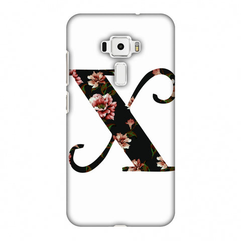 Floral Fill - X Slim Hard Shell Case For Asus Zenfone 3 ZE520KL
