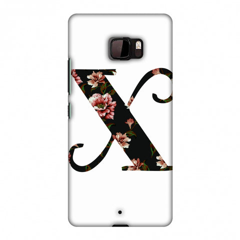 Floral Fill - X Slim Hard Shell Case For HTC U Ultra