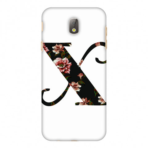 Floral Fill - X Slim Hard Shell Case For Samsung Galaxy J7 Pro