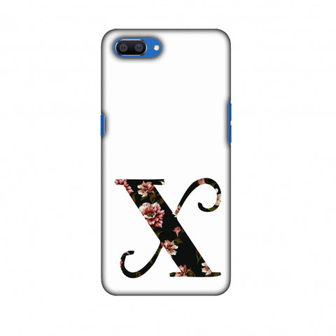 Floral Fill - X Slim Hard Shell Case For Oppo Realme C1