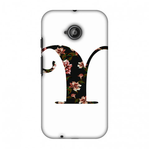 Floral Fill - Y Slim Hard Shell Case For Motorola Moto E 2nd Gen