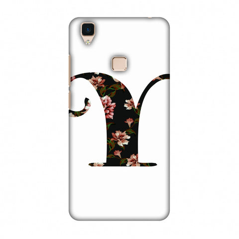 Floral Fill - Y Slim Hard Shell Case For Vivo V3