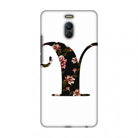 Floral Fill - Y Slim Hard Shell Case For Meizu Note 6