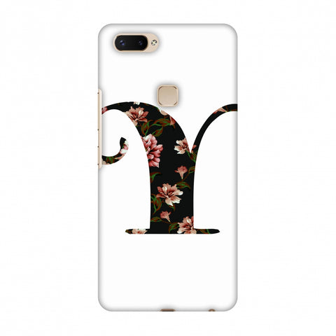 Floral Fill - Y Slim Hard Shell Case For Vivo X20 Plus