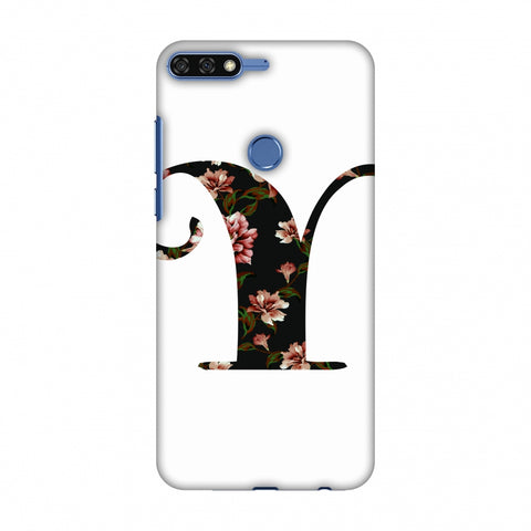 Floral Fill - Y Slim Hard Shell Case For Huawei Honor 7C