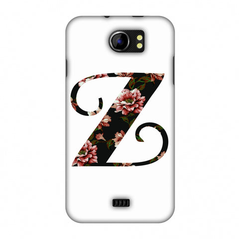 Floral Fill - Z Slim Hard Shell Case For Micromax Canvas 2 A110