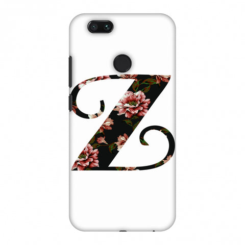 Floral Fill - Z Slim Hard Shell Case For Xiaomi MI A1-5X