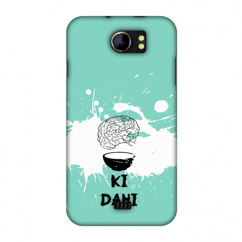 Dimag Ki Dahi - Aquamarine Slim Hard Shell Case For Micromax Canvas 2 A110