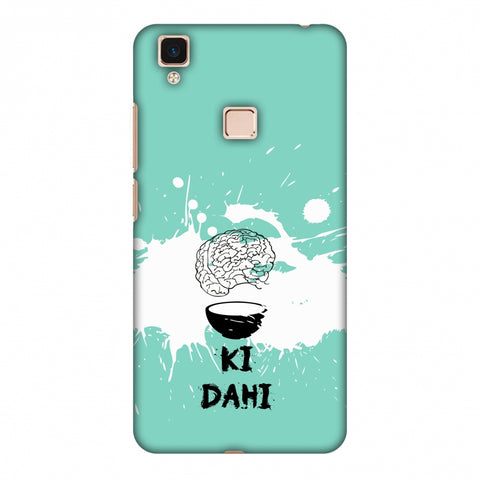 Dimag Ki Dahi - Aquamarine Slim Hard Shell Case For Vivo V3 Max