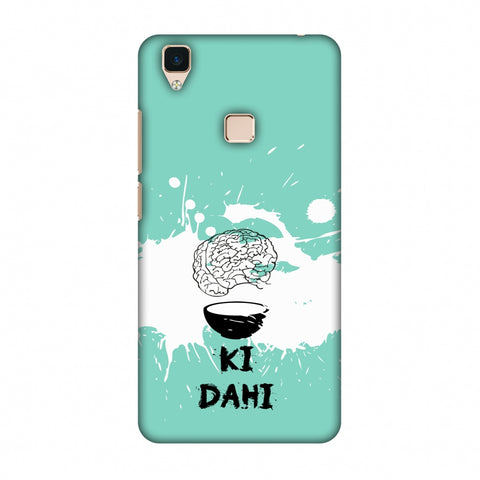 Dimag Ki Dahi - Aquamarine Slim Hard Shell Case For Vivo V3