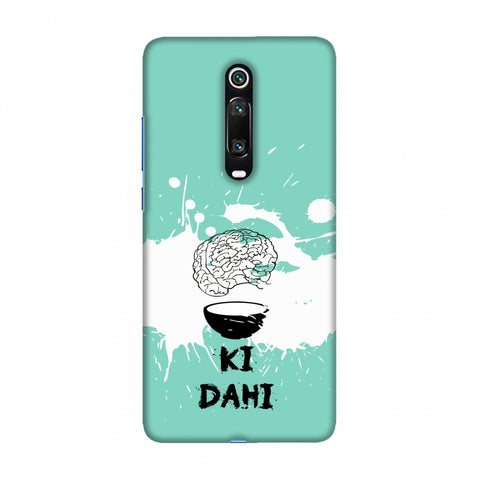 Dimag ki Dahi - Aquamarine Slim Hard Shell Case For Redmi K20/K20 Pro