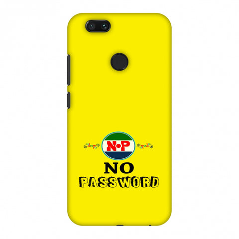 No Password - Bright Yellow Slim Hard Shell Case For Xiaomi MI A1-5X