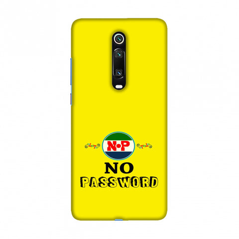 No Password- Bright yellow Slim Hard Shell Case For Redmi K20/K20 Pro