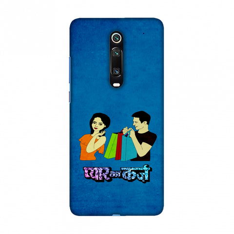 Pyaar ka Karz- Blue Slim Hard Shell Case For Redmi K20/K20 Pro