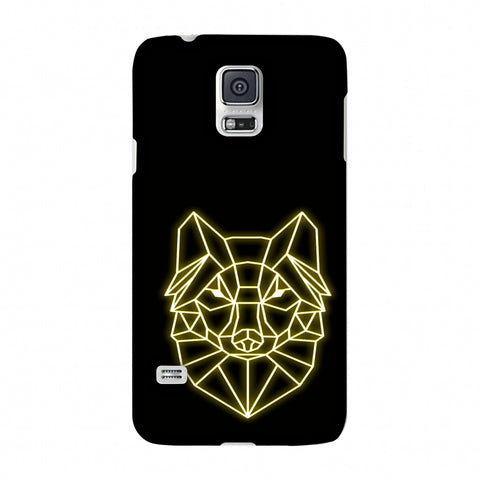 Clever Fox - Ochre Slim Hard Shell Case For Samsung Galaxy S5